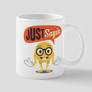 Emoji Just Sayin 11 oz Ceramic Mug