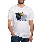 Passport & Compass Fitted T-Shirt