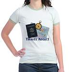 Passport & Compass Jr. Ringer T-Shirt
