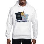 Passport & Compass Hooded Sweatshirt
