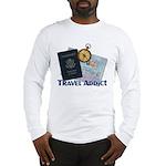 Passport & Compass Long Sleeve T-Shirt