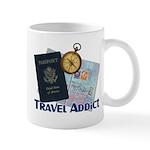 Passport & Compass Mug