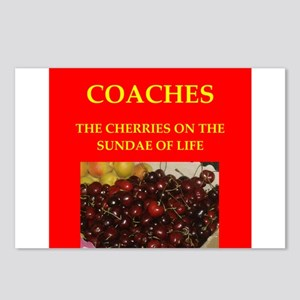 coach Postcards (Package of 8)