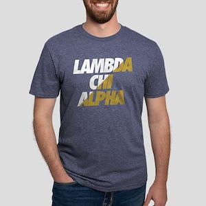 Lambda Chi Alpha Athletic Mens Tri-blend T-Shirt