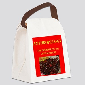 anthropology Canvas Lunch Bag