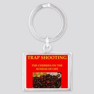 TRAP shooting Landscape Keychain