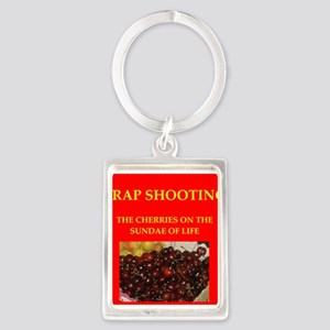 TRAP shooting Portrait Keychain