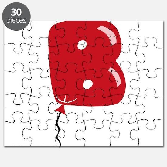 Red Balloon Monogram B Puzzle