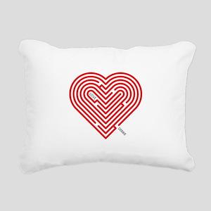 I Love Debbie Rectangular Canvas Pillow