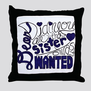 Dear Didi Throw Pillow