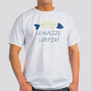 Legalize Lutefisk Fish T-Shirt