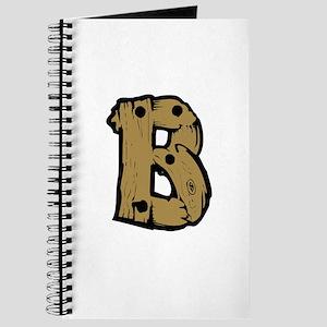Drift Wood Monogram B Journal