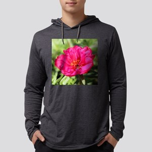 Moss rose Mens Hooded Shirt