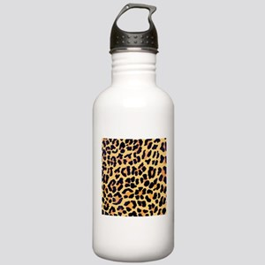 Cheetah Print Stainless Water Bottle 1.0L