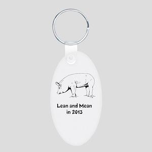 Skinny Pig Keychains