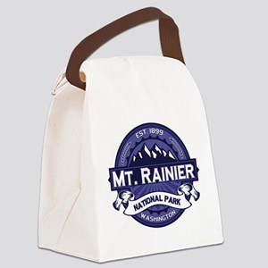 Mt. Rainier Midnight Canvas Lunch Bag