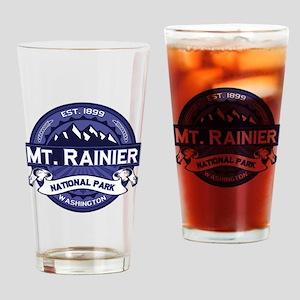 Mt. Rainier Midnight Drinking Glass
