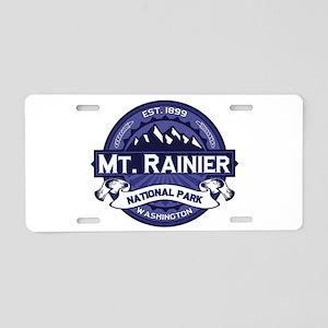 Mt. Rainier Midnight Aluminum License Plate