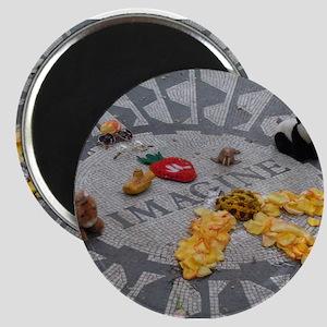 Imagine Strawberry Fields NYC Magnet