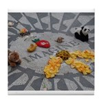 Imagine Strawberry Fields NYC Tile Coaster