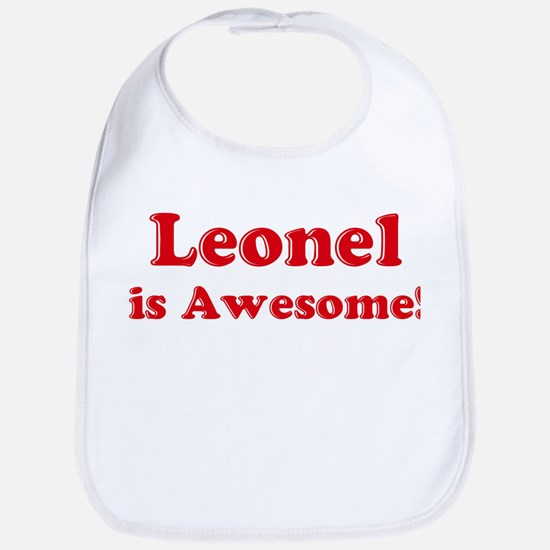Leonel is Awesome Bib