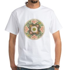 Chinese Dynasty White T-Shirt