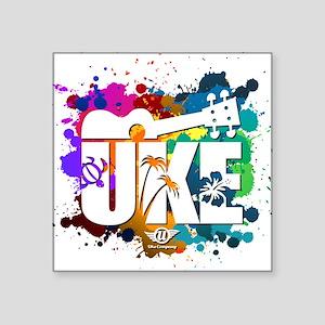 Color Me Uke! Sticker