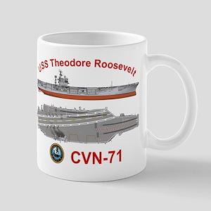 USS Roosevelt CVN-71 Mug