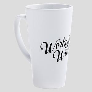 Workout Warrior 17 oz Latte Mug