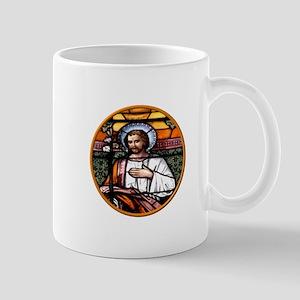 ST. JOSEPH STAINED GLASS WINDOW Mug
