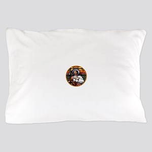 ST. JOSEPH STAINED GLASS WINDOW Pillow Case