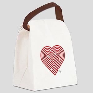 I Love Ellen Canvas Lunch Bag