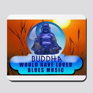 Buddha Blues Mousepad