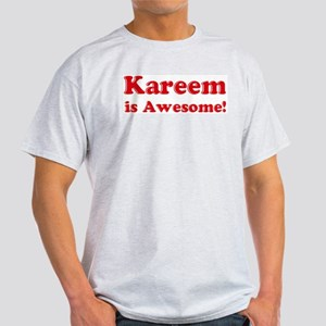 Kareem is Awesome Ash Grey T-Shirt