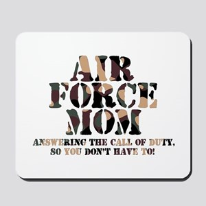 AF Mom Answering the Call Mousepad