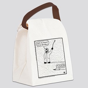 Snow Storm Prick - Canvas Lunch Bag
