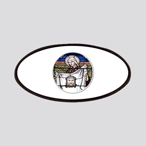 St. Veronica Stained Glass Window Patches