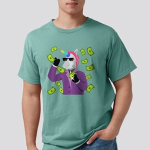 Emoji Unicorn Like A Bos Mens Comfort Colors Shirt