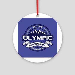 Olympic Midnight Ornament (Round)