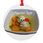Kneidel Love Ornament