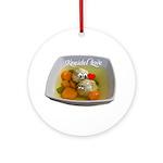 Kneidel Love Ornament (Round)