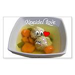 Kneidel Love Sticker