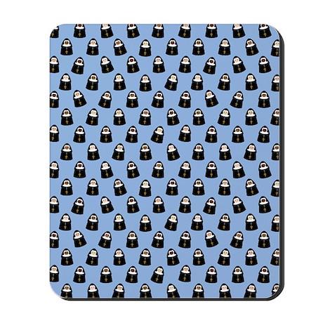 Cute Nuns Mousepad