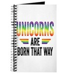 Unicorns Are Born That Way Journal