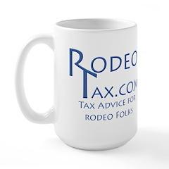 RodeoTax Large Mug