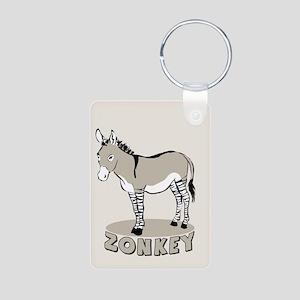 Zonkey Aluminum Photo Keychain