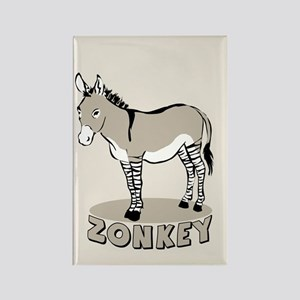 Zonkey Rectangle Magnet