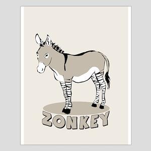 Zonkey Small Poster