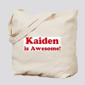 Kaiden is Awesome Tote Bag