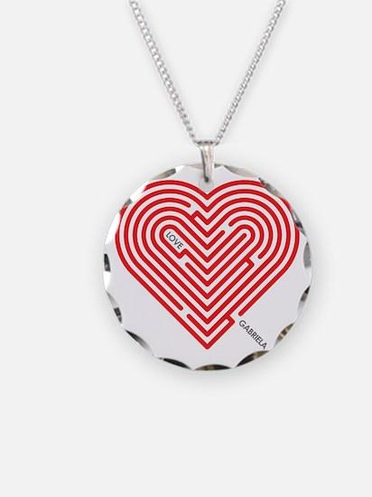 I Love Gabriela Necklace